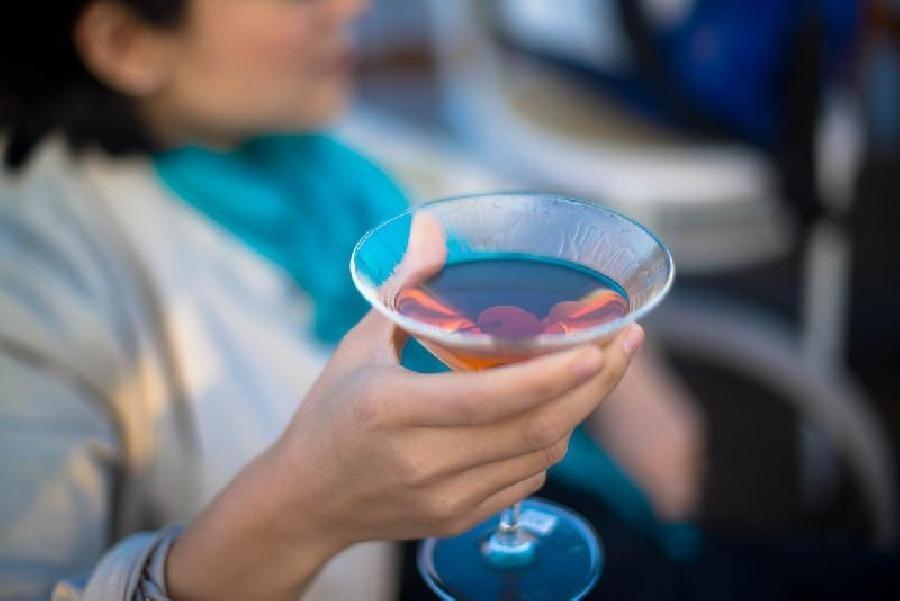 Cocktailglas of Martiniglas