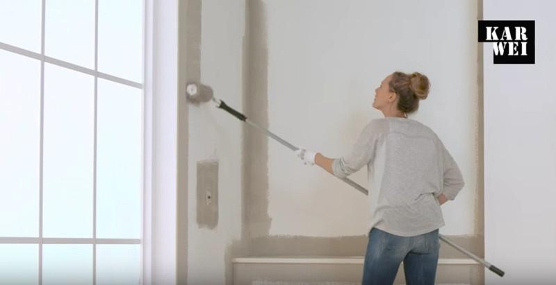 Schilderen van de muur