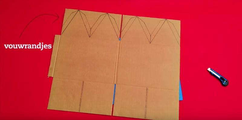 Bovenkant raket maken