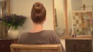 Hoe kun je een knot maken met een haardonut
