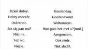 Hoe kun je wat basiswoorden Pools leren
