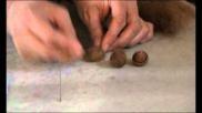 Hoe kun je van wol eikeltjes vilten