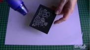 Hoe kun je snel kerstkaarten maken met embossing inkt en poeder