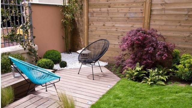 Een kleine tuin slim en ruimtelijk aanleggen met een beperkt budget.