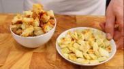 Recept croutons maken van oud brood