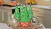 Kerst cupcakes versieren met een kerstboompje