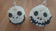 Halloween versiering Feestelijke Jack Skellington hoofdjes