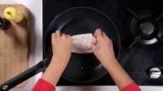 Recept Sliptong bakken makkelijk en snel goudbruin