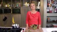 Een lekkere salade met rauwe ham vijgen en walnoten Makkelijk en snel recept