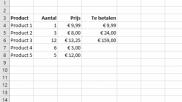 Hoe kun je makkelijk formules kopieren in Excel