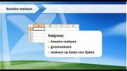 Hoe kun je in Excel gegevens kopieren reeksen aanvullen en nieuwe lijsten opslaan