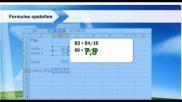 Hoe kun je met formules werken in het programma Microsoft Excel