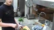 Hoe moet je spaghetti Bolognese een Italiaans pastagerecht bereiden