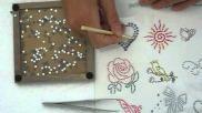 Hoe kan ik zelf originele hotfix textiel patronen maken
