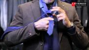 Hoe moet je een stropdas knopen De Enkelvoudige Windsor knoop