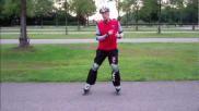 Hoe kun je tijdens het skaten een goede afzet maken en ontspanning inbouwen in je slag