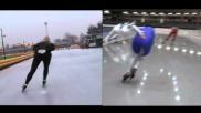 Hoe kun je je schaatstechniek verbeteren De timing