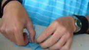 Hoe kun je een origami adelaar vouwen