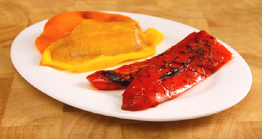 Afkoelen van de paprika