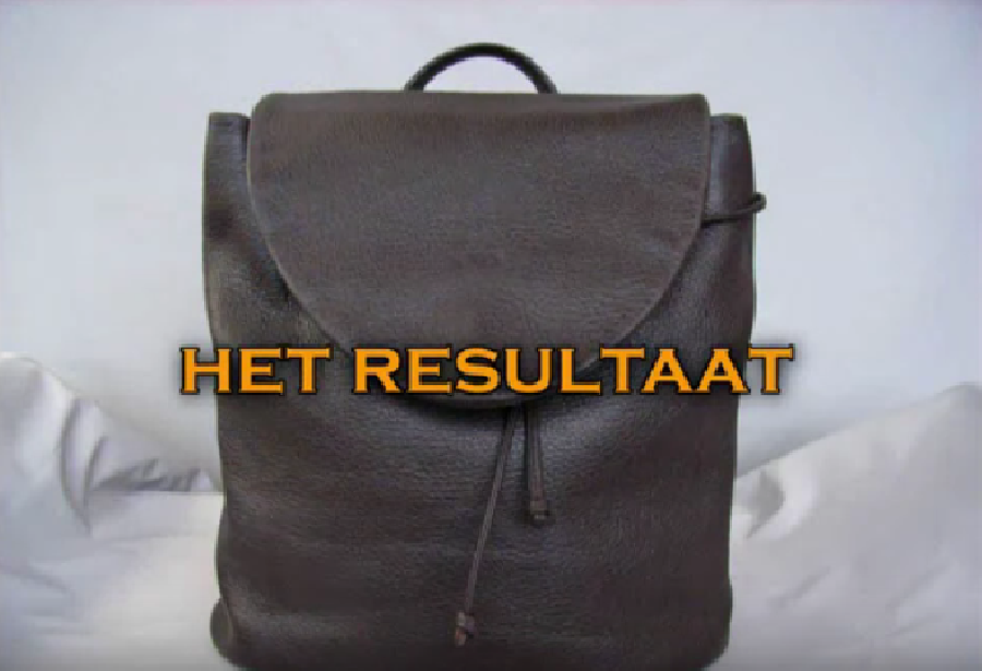 Het leer van de tas verzorgen en conserveren