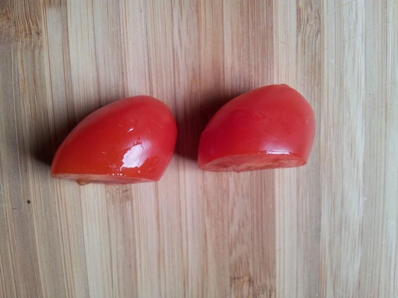 Tomaatjes snijden