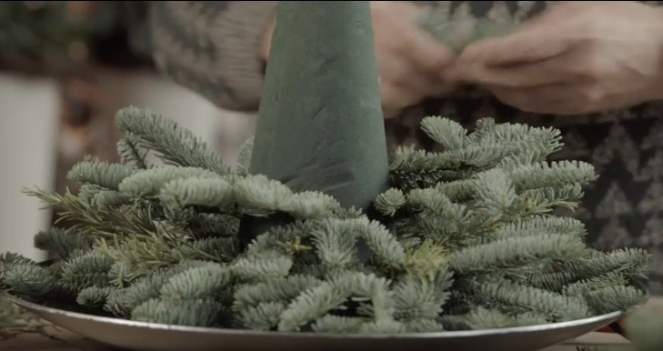 Basis kerstboom maken