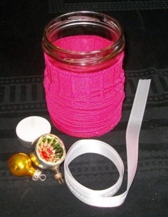 Pot aankleden met sok