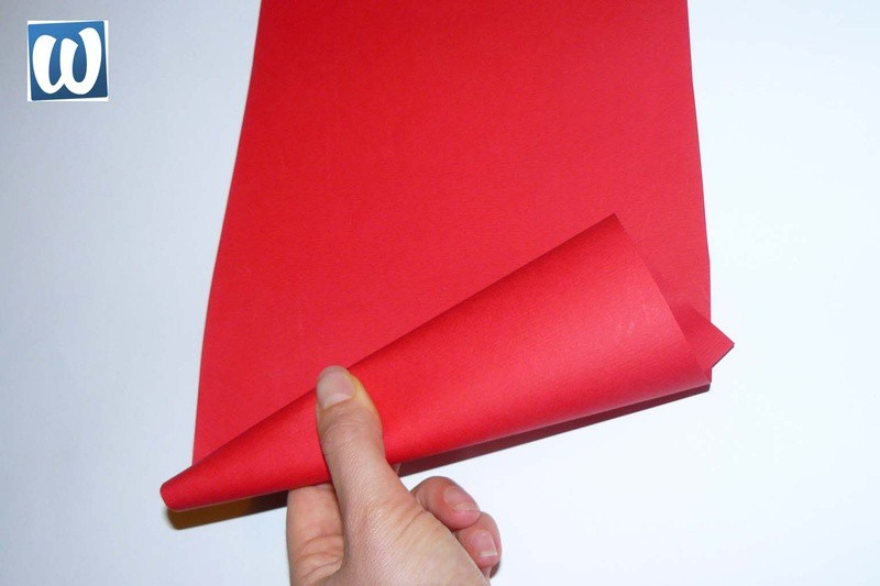 Puntmuts draaien van papier