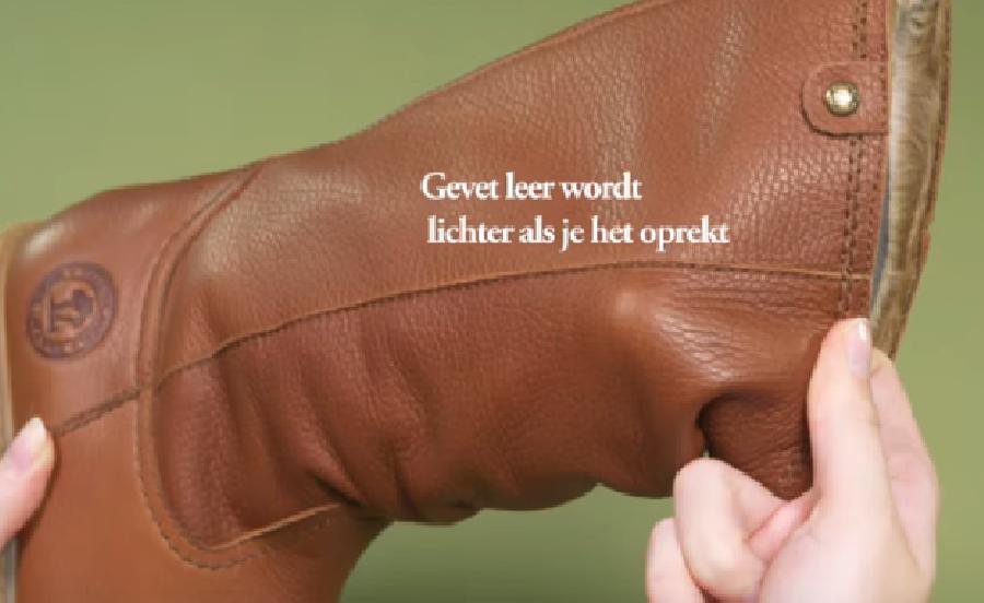 Schoenen van gevet leer onderhouden