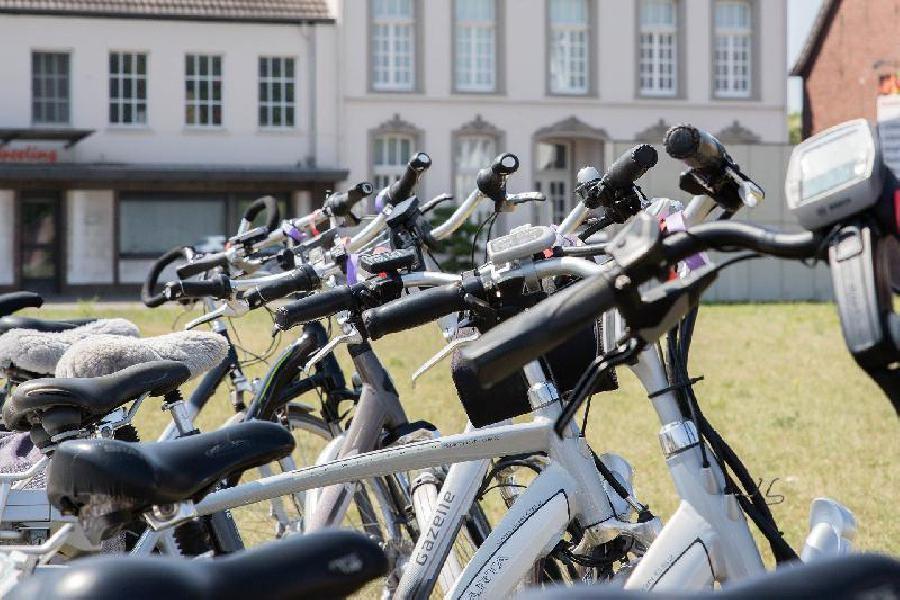 Een fietstocht onderbreken