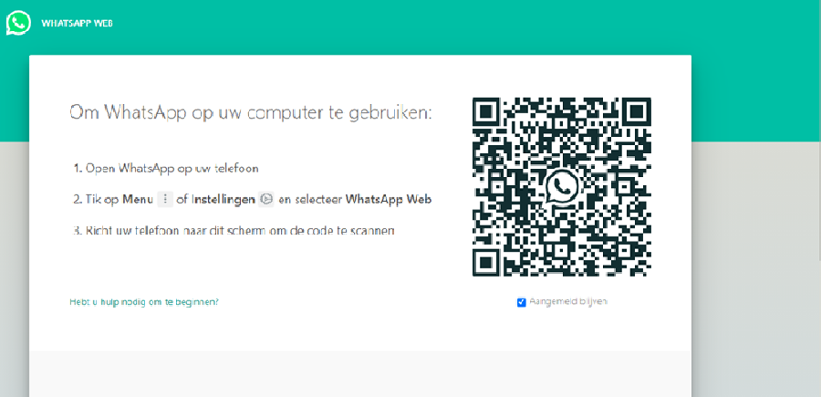 WhatsApp Web openen op je computer