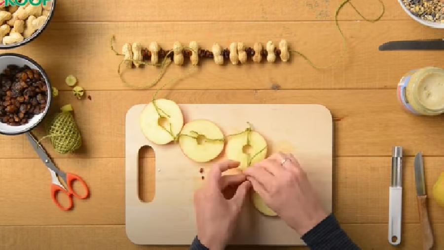 De appelslinger maken