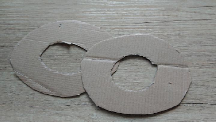 Cirkels op karton tekenen