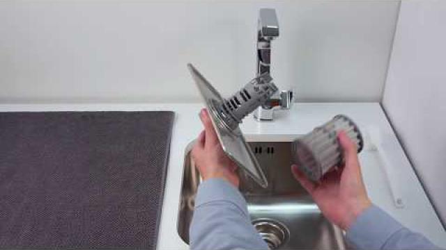 Beroemd Hoe kun je de afvoerpomp van een Siemens vaatwasser reinigen UL17
