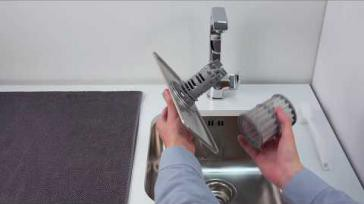 Hoe kun je de afvoerpomp van een Siemens vaatwasser reinigen
