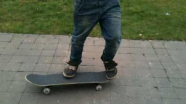 Hoe doe je met skateboarden de Kickflip