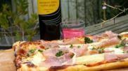 Hoe kun je een bladerdeegtaartje met asperges en ham maken