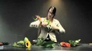 Hoe kun je mooie bloemstukken maken in een parallelle schikking