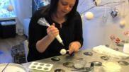 Hoe kun je cakepops met het thema winter en kerst maken