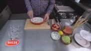 Hoe kun je simpel en snel een garnalen komkommer cocktail bereiden