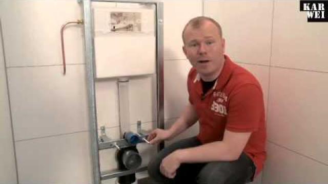 Frontplaat Hangend Toilet : Hoe kun je zelf een wandcloset met inbouwreservoir plaatsen