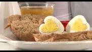 Valentijnsdag Hoe maak je van een ei een hartvormig ei