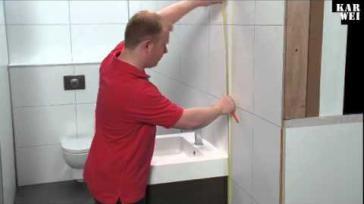 Hoe kun je zelf een badkamermeubel plaatsen