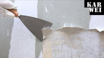Hoe kun je vakkundig behang verwijderen van je muur
