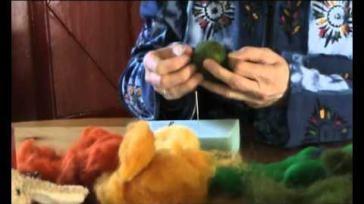Hoe kun je voor Pasen paaseieren vilten van wol
