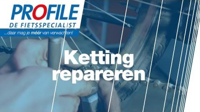 Ketting-fiets-repareren-kapotte-kettingschakel-vervangen