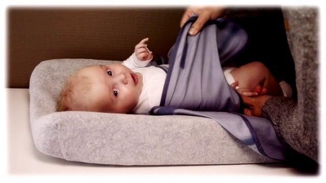 Je baby inbakeren met de Pacco inbakerdoek