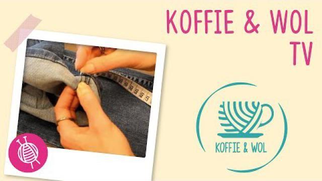 b4fdbffa203 Spijkerbroek korter maken en originele zoom behouden. - Instructies ...