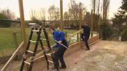 Een houten pergola zelf maken