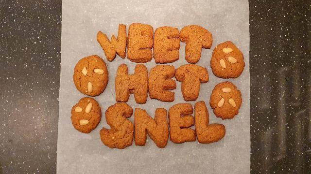 Sinterklaas recept: speculaasletters bakken – leuk en lekkerrr!